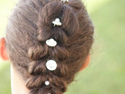 CurlyKids® Pull-Through Ponytail Braid