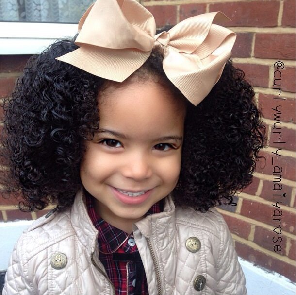 CurlyKids - For A Curly World - Ambassadors - United Kingdom - Amaiya Rose